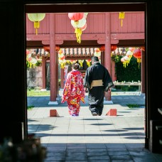 古代沖繩風味-體驗王國婚紗照