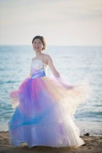 日本製作的手工婚紗禮服
