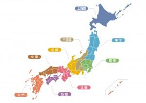 日本地図 (3)